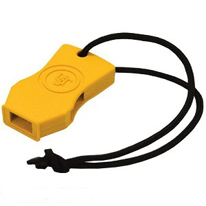 Ultimate Survival Technologies JetScream Micro Whistle Marine, Yellow 20-51143-06-M