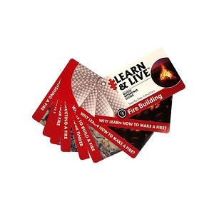 Ultimate Survival Technologies Learn and Live Cards - Fire Starting 20-80-1035