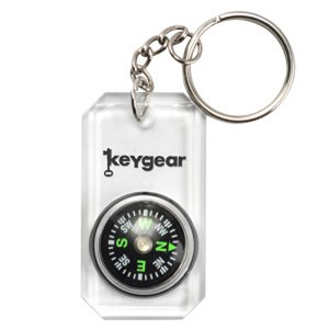 Ultimate Survival Technologies Clear Compass, Clear 50-KEY0074-10