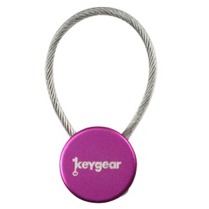 Ultimate Survival Technologies Cable Key Keeper, Purple 50-KEY0091-38