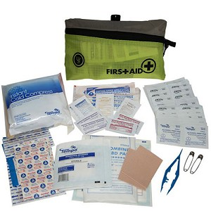 Ultimate Survival Technologies FeatherLite Marine First Aid Kit 2.0 Lime 80-30-1455-M