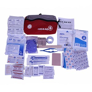 Ultimate Survival Technologies FeatherLite First Aid Kit 2.0, Red 80-30-1455