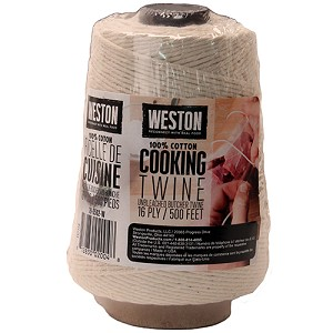 Weston Brands CookingTwineCone 500' 16ply NaturalCotton 19-0502-W