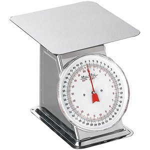 Weston Brands Scale Dial Flat Top 44 lb 24-0302
