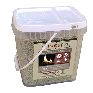 Wise Foods 2 Galln Bucket - Wise Fire 01-621ISF