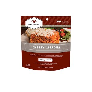 Wise Foods Cheesy Lasgna 2 Serving Pouch 03-705