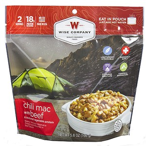 Wise Foods Outdoor Chili Mac with Beef 03-901