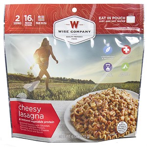 Wise Foods Outdoor Cheesy Lasagna 03-905