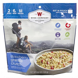 Wise Foods Outdoor Strawberry Granola Crunch 03-907