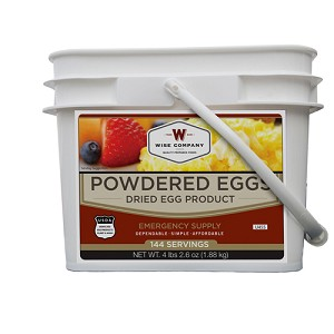 Wise Foods Powdered Eggs In a Bucket 144 Servings 05-516