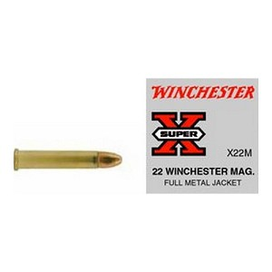 Winchester Ammo SupX 22 WinMag FMJ Super X/50 X22M
