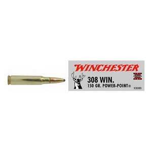 Winchester Ammo SupX 308 Win 150gr Power Point/20 X3085