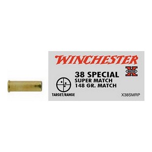 Winchester Ammo SupX 38 SPL 148gr Lead Wadcut/50 X38SMRP