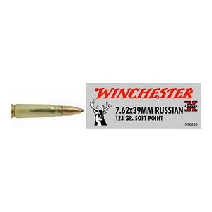 Winchester Ammo SupX 7.62X39 123gr SP/20 X76239
