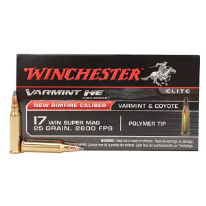 Winchester Ammo Varmint HE 17WSM Vmax 25gr /50 S17W25