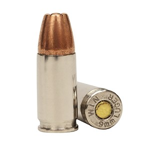 Winchester Ammo W 9mm Defender 147gr JHP ReducedRcl /20 W9MMD