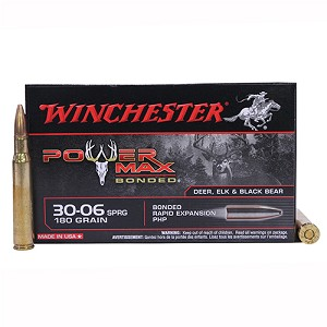 Winchester Ammo SupX 30-06 Spg 180gr PowerMax Bnd X30064BP