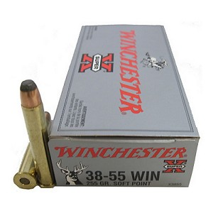 Winchester Ammo 38-55 Win 255Gr. Soft Point/20 X3855
