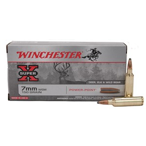 Winchester Ammo 7mm WSM 150gr Power Point/20 X7MMWSM