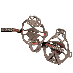 Yaktrax Yaktrax Run,Gray/Red,XL 8164