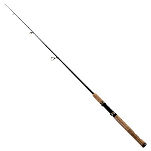 "Zebco / Quantum GRAPHEX 4'6"" 1PC ULTRA-LIGHT SPINNING ROD GXS461UL,PB3"