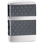 Zippo Outdoors Windproof Lighter-Zip Guard-Brshd Chrome 200ZP