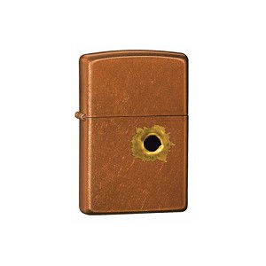 Zippo Outdoors Windproof Lighter -Bullet Hole-Outdoor BG 24717
