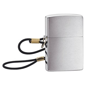 Zippo Outdoors Windproof Lighter-Loop & Lanyard-B Chrome 275