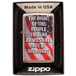 Zippo Outdoors Windproof Lighter-Right to Bear Arms-Chrm 28641