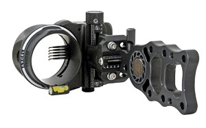 Axcel Hunting Sight Armortech 5 Pin .010 Black