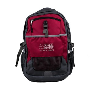 Osage River Osceola Series Daypack - Red/Gray