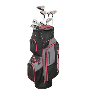Cobra Golf XL Speed Womens Complete Set Black-Pink RH