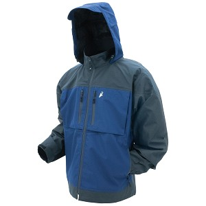 Frogg Toggs Anura HD Jacket Dust Blue Large