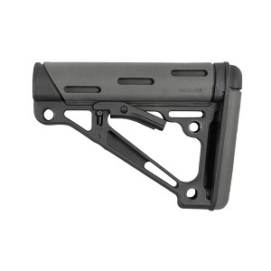 Hogue AR15 M16 OM CollapseButtstock Fits Comm BufferTube Gry