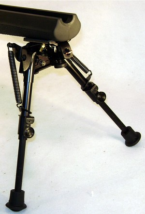 Harris BiPod Hinged Base 6-9 inches S-BR