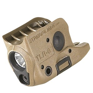 Streamlight TLR-6 Gun Mounted Light w-Red Laser FDEB Color