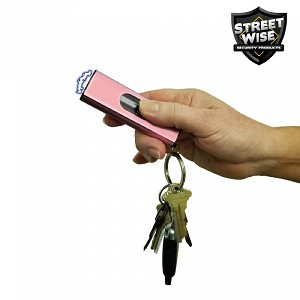Cutting Edge Streetwise USB 22 mil Stun Gun Flashlight Pink
