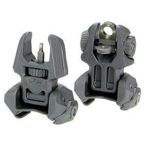 Meprolight Frnt and Rear Flip-up Sghts w Tritium-4 Rear Dots